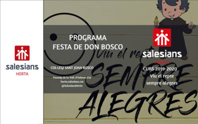 Festa Don Bosco 2020 Salesians Horta