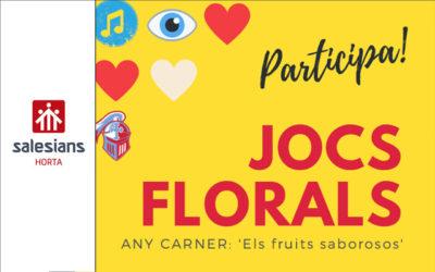 Convocatòria Jocs Florals 2020